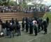 RCN Radio - encapuchados protestando en la UTP