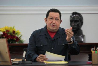 Chávez tendría células cancerígenas en el intestino, según prensa española