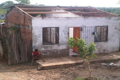 Más de 100 viviendas afectadas por vendaval en el sur del Atlántico