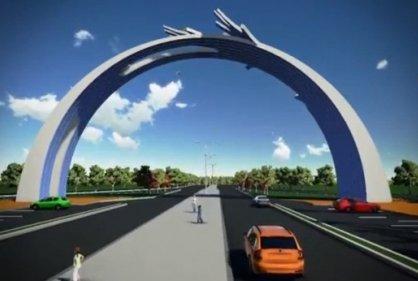 Arco Puerta de Oro, nuevo monumento para Barranquilla